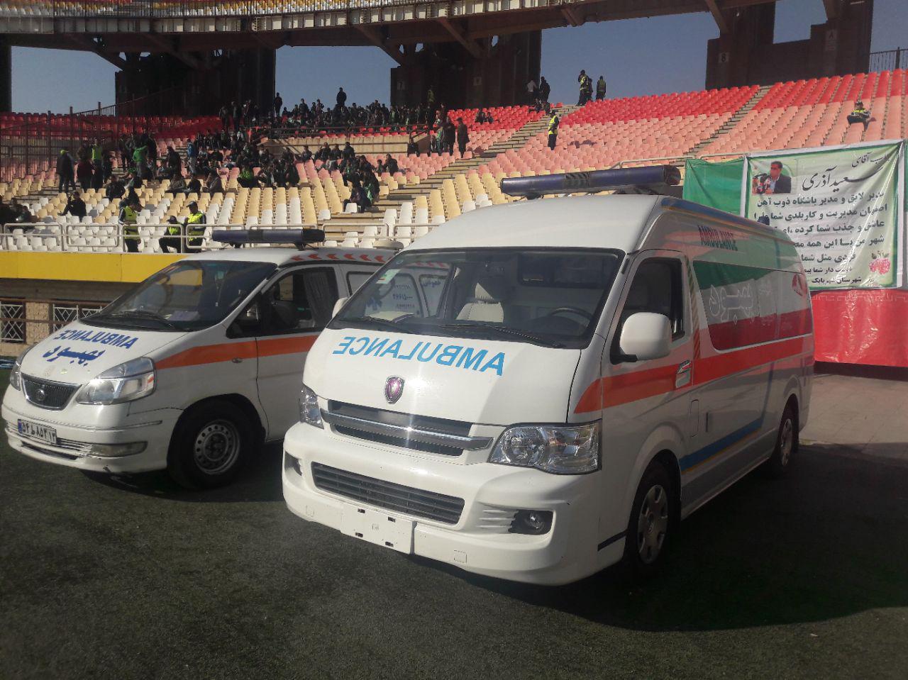 آمبولانس خصوصی,آمبولانس بهبود