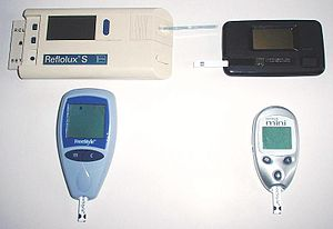 گلوکوزمتر,گلوکومتر,تست قند خون,در آمبولانس